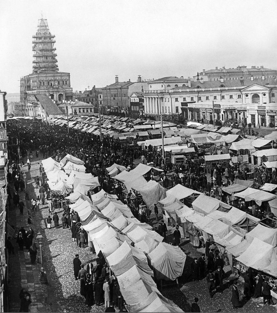 Сухаревский рынок.